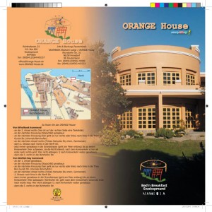 ORANGE House eFlyer Prospekt